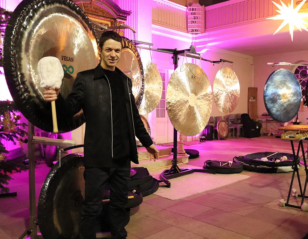 Neujahreskonzert mit Gong