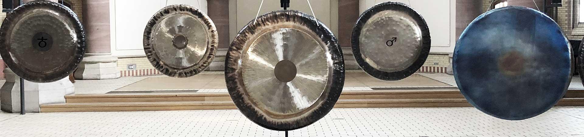 Gongkonzerte von Peter Heeren